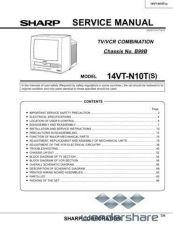 Buy Sharp 14VTN10T-S SM GB Manual.pdf_page_1 by download #177777