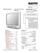 Buy Sanyo DS32830H(OM) Manual by download #174087