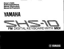 Buy Yamaha SHS10E Operating Guide by download Mauritron #205281