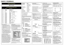 Buy Sanyo CE28WN4-B-04 (2) Manual by download #173184