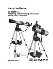 Buy Meade DS2000 LNTqxd Instruction Manual by download Mauritron #194734