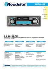 Buy ROADSTAR RC-794RD FM by download #128391