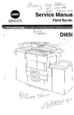 Buy Minolta DI650 MAIN BODY WITH TECH N Service Schematics by download #137243