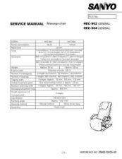 Buy Sanyo HEC-904 01(1) Manual by download #174414