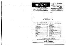 Buy Hitachi HITACHI-CMT2199 CHASSIS S3 M3 Manual by download #170980