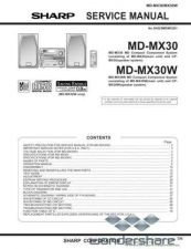 Buy Sharp 39 MD-MX30 Manual.pdf_page_1 by download #178435