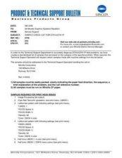 Buy Minolta CHECK LIST FOR MINOLTA Service Schematics by download #137034