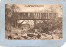 Buy CT Kent Covered Bridge Postcard Bulls Bridge Over Housatonic River World G~30