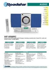 Buy ROADSTAR HIF-8598RC by download #128220