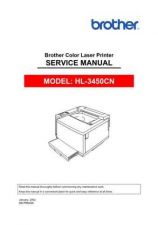 Buy Brother SM HL3450CN Service Schematics by download #134873