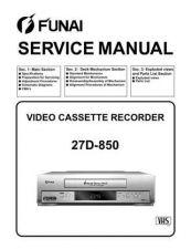 Buy Funai 27D-861 HE464ED(SL) Manual by download #161028