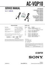 Buy SONY AC-SQ950D Service Manual by download #166244