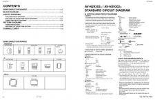 Buy JVC AV-N29302 schem Service Schematics by download #155410