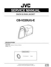 Buy CB-V220U, V220U-E 86568 Service Schematics by download #130314