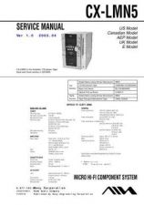 Buy AIWA CX-LMN5 TECHNICAL INFO by download #125262