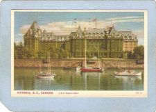 Buy CAN Victoria Postcard C P R Empress Hotel can_box1~216