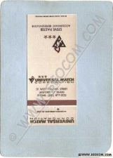 Buy CT Milford Matchcover Universal Match Corp 51 West Orland St Steve Paster ~1445