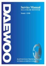 Buy DAEWOO MON529BSVC Manual by download Mauritron #184909