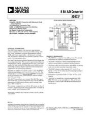 Buy INTEGRATED CIRCUIT DATA AD673J Manual by download Mauritron #186304