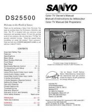 Buy Sanyo DS25430(SM510077-01) Manual by download #174035
