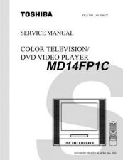 Buy TOSHIBA MD14FP1CSVM Service Schematics by download #160167