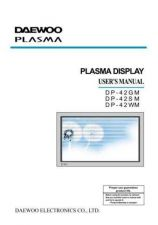Buy DAEWOO DP42SM PANEL TYPE CHECK METHOD Manual by download #183915