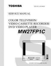 Buy TOSHIBA MW27FP1CSVM Service Schematics by download #160333