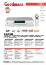 Buy GOODMANS GDVD515 by download #125458
