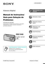 Buy SONY DSC-S40 OPERATING GUIDE by download #166761
