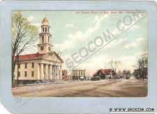 Buy CT Meriden Postcard Corner Broad & East Main Sts Street Scene Intersection~1319