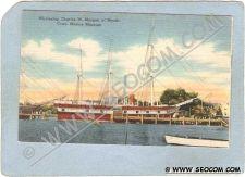 Buy CT Mystic Postcard Mystic Seaport Whaleship Charles W Morgan ct_box3~1510