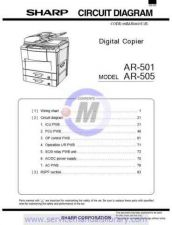 Buy Sharp AR5015 SM GB(1) Manual by download #179452
