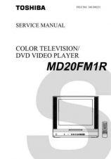 Buy TOSHIBA MD20FM1R SVCMAN Service Schematics by download #160183