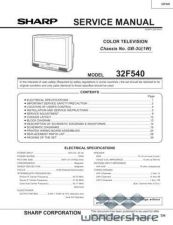 Buy Sharp 32F540 Manual.pdf_page_1 by download #178233