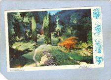 Buy CAN Vancouver Postcard Night Illumination In Butcharts Gardens can_box1~113