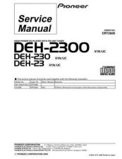 Buy PIONEER C2605 Service Data by download #148992