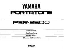 Buy Yamaha PSR2500E Operating Guide by download Mauritron #204109