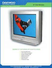 Buy Daewoo DTQ27U4FC SPECS Manual by download Mauritron #184088