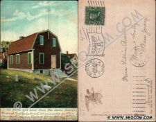 Buy CT New London Postcard Old Nathan Hale School Undivided Back ct_box4~2074