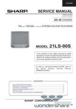Buy Sharp 21LS90S SM GB(1) Manual.pdf_page_1 by download #177923