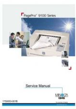 Buy KONICA Konica minolta qms pagepro 9100 servicemanual CDC-1027 by download #1379