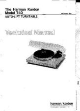 Buy INFINITY T40 SM Service Manual by download #147863