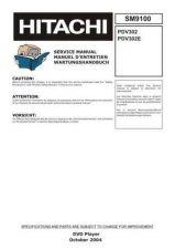 Buy HITACHI PDV302 SM 9100E Manual by download Mauritron #186210