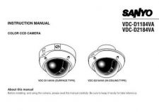Buy Sanyo VCC-9615P Operating Guide by download #169624