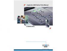 Buy KONICA MINOLTA QMS MAGICOLOR 2200 PARTS MANUAL by download #152095