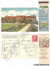 Buy CT New London Postcard Matchcover Combo Pack Matchcover Lighthouse Inn & K~2138