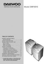 Buy Deewoo DWF-600XG (P) Operating guide by download #167904