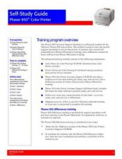 Buy Xerox 850 SELFSTUDYGUIDE Service Manual by download #139493