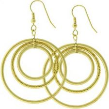 Buy Golden Illusion Earrings