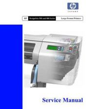 Buy HP DESIGNJET 500 & 800 SERIES SERVICE by download #147523
